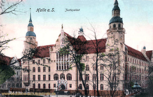 Halle. a. d. S., Justizpalast