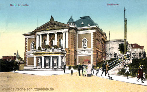 Halle. a. d. S., Stadttheater