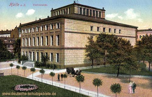 Halle. a. d. S., Universität
