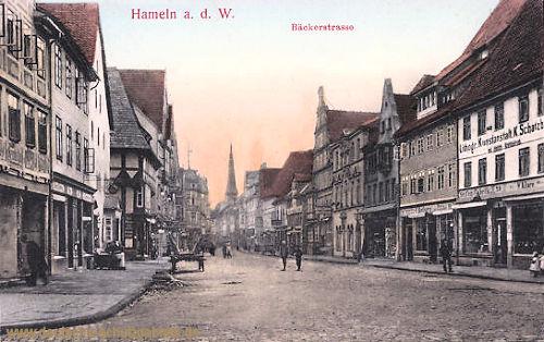Hameln, Bäckerstraße
