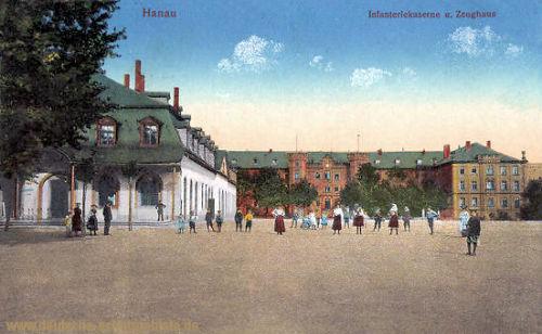 Hanau, Infanteriekaserne und Zeughaus