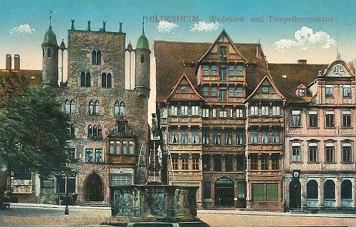 Hildesheim, Wedekind- und Tempelherrenhaus