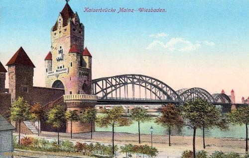 Kaiserbrücke Mainz-Wiesbaden