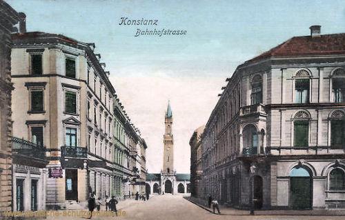 Konstanz, Bahnhofstraße