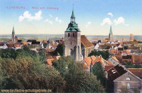 Lüneburg, Blick vom Kalkberg