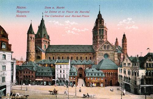 Mainz, Dom und Markt