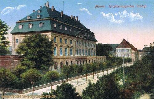 Mainz, Großherzogliches Schloss