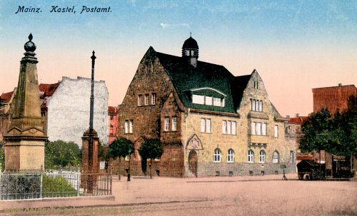 Mainz. Kastel, Postamt