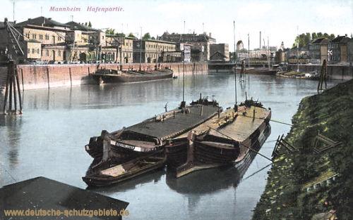 Mannheim, Hafenpartie
