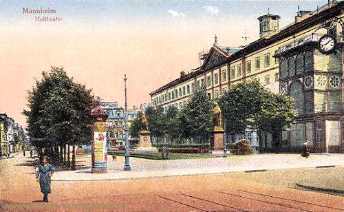 Mannheim, Hoftheater
