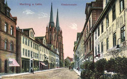 Marburg, Elisabethstraße