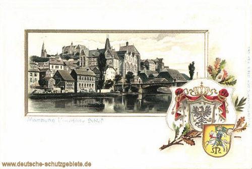 Marburg, Universität und Schloss