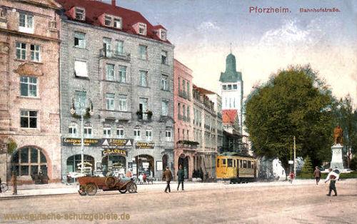 Pforzheim, Bahnhofstraße