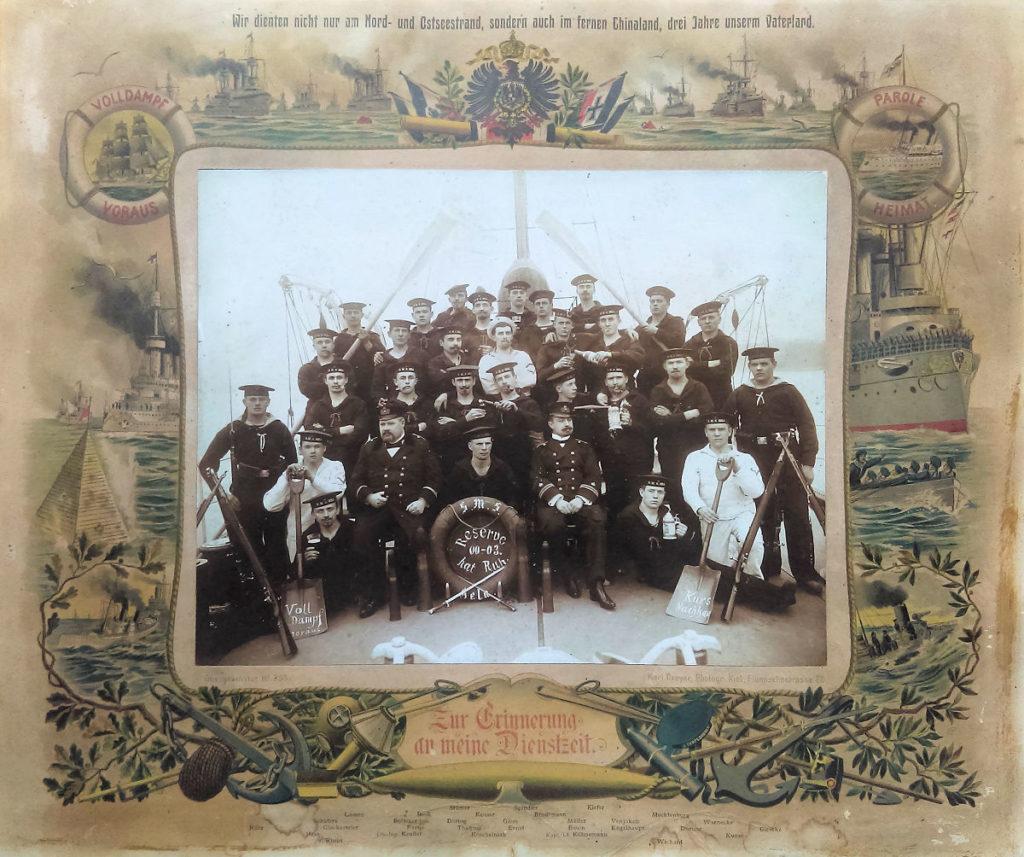 S.M.S. Hela, Zur Erinnerung an meine Dienstzeit 1900 - 1903