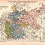 Übersichtskarte der Rechtsgebiete im Deutschen Reiche, 1894