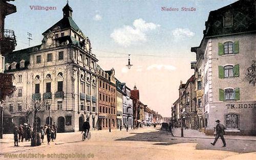 Villingen, Niedere Straße