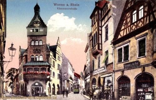 Worms, Kämmererstraße
