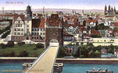 Worms am Rhein, Panorama