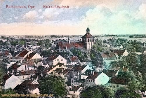 Bartenstein, Blick auf die Stadt