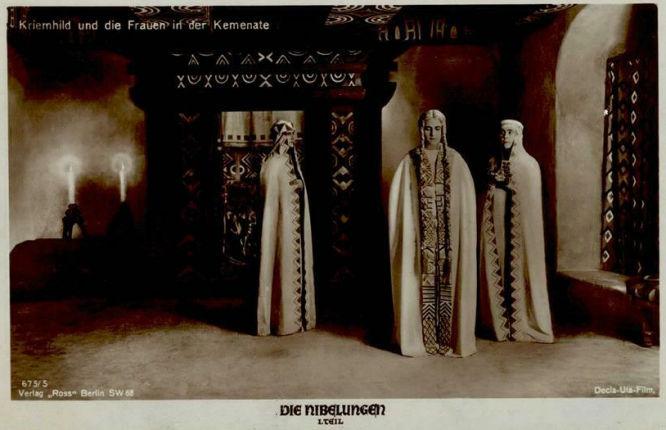 Die Nibelungen - Kriemhild und die Frauen in der Kemenate