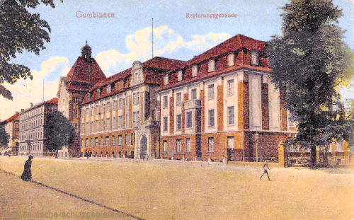 Gumbinnen, Regierungsgebäude