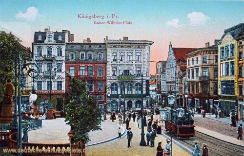 Königsberg, Kaiser-Wilhelm-Platz