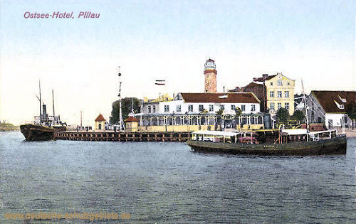 Pillau, Ostsee-Hotel