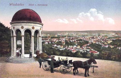Wiesbaden, Blick vom Neroberg