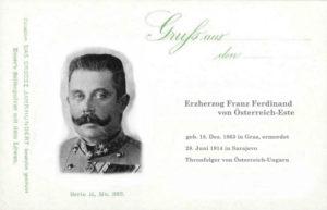 Erzherzog Franz Ferdinand von Österreich-Este