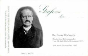 Georg Michaelis, Reichskanzler