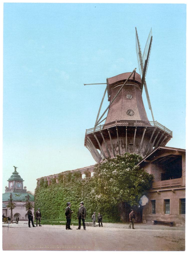 Potsdam. Historische Mühle