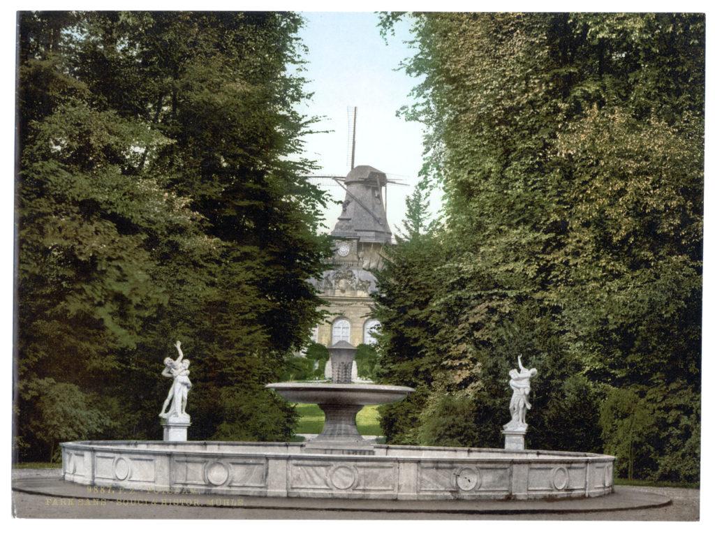 Potsdam. Park Sans-Souci & Historische Mühle