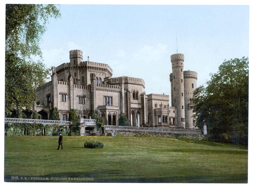 Potsdam. Schloss Babelsberg