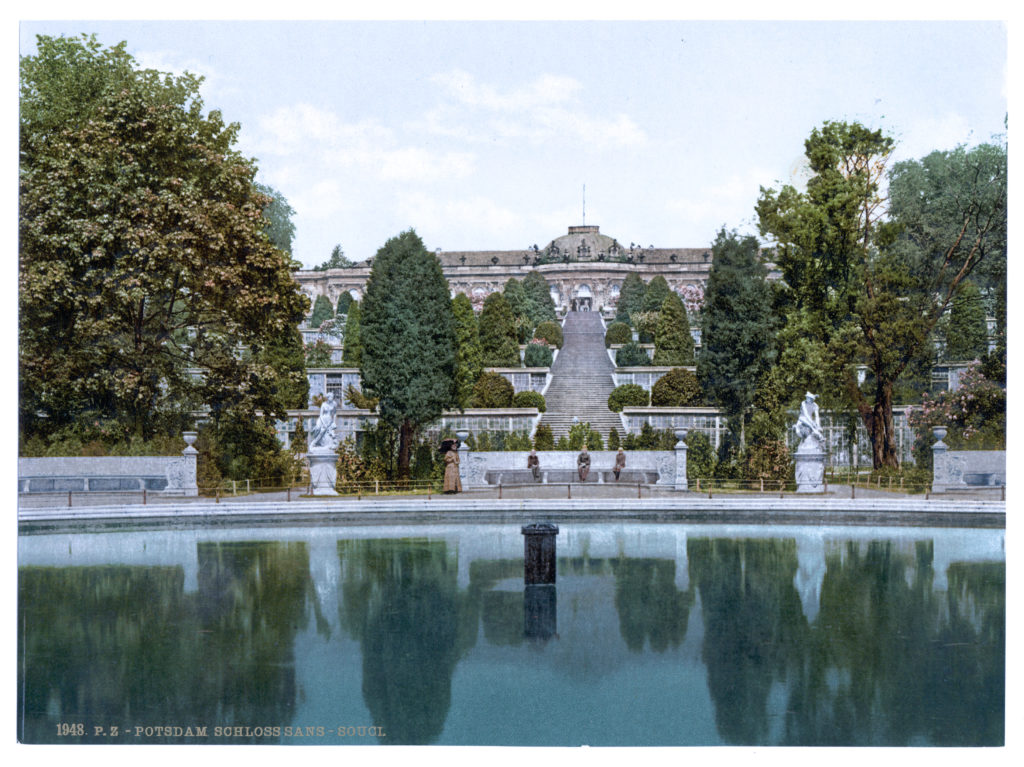 Potsdam. Schloss Sans-Souci