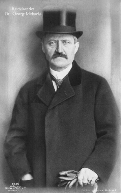 Reichskanzler Dr. Georg Michaelis