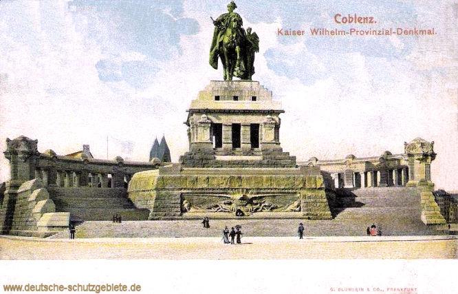 Coblenz, Kaiser Wilhelm-Provinzial-Denkmal