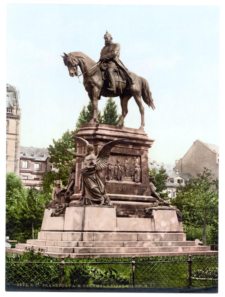 Frankfurt a. M. Denkmal Kaiser Wilhelm I.