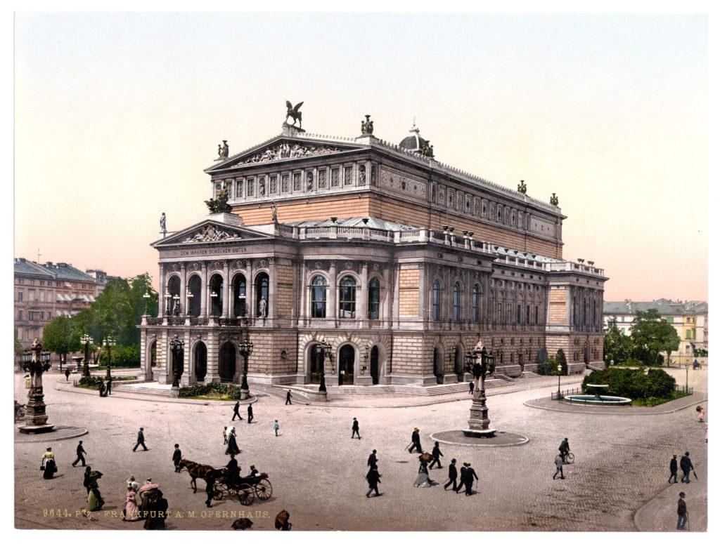 Frankfurt a. M. Opernhaus