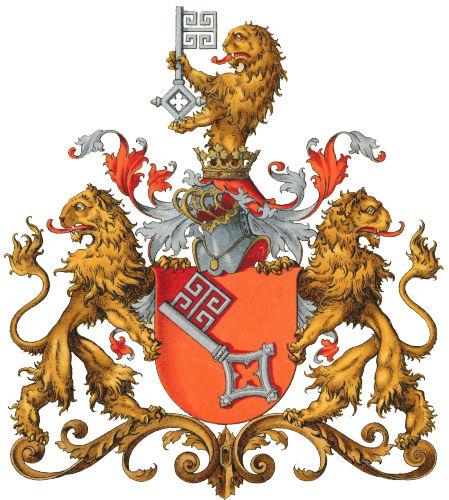 Freie Hansestadt Bremen, Größeres Staatswappen