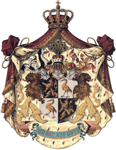 Fürstentum Reuß älterer Linie, Großes Staatswappen