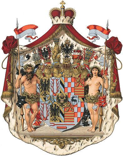 Fürstentum Schwarzburg-Rudolstadt, Großes Staatswappen