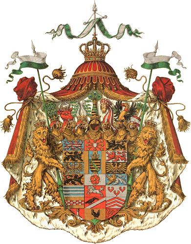 Herzogtum Sachsen-Altenburg, Großes Staatswappen