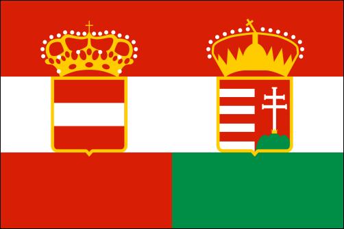 Österreich-Ungarn, Handelsflagge