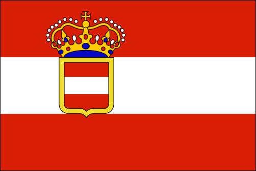 Österreich, Kriegsflagge