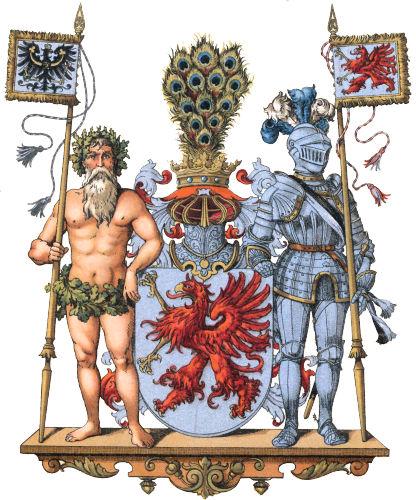 Provinz Pommern, Großes Wappen