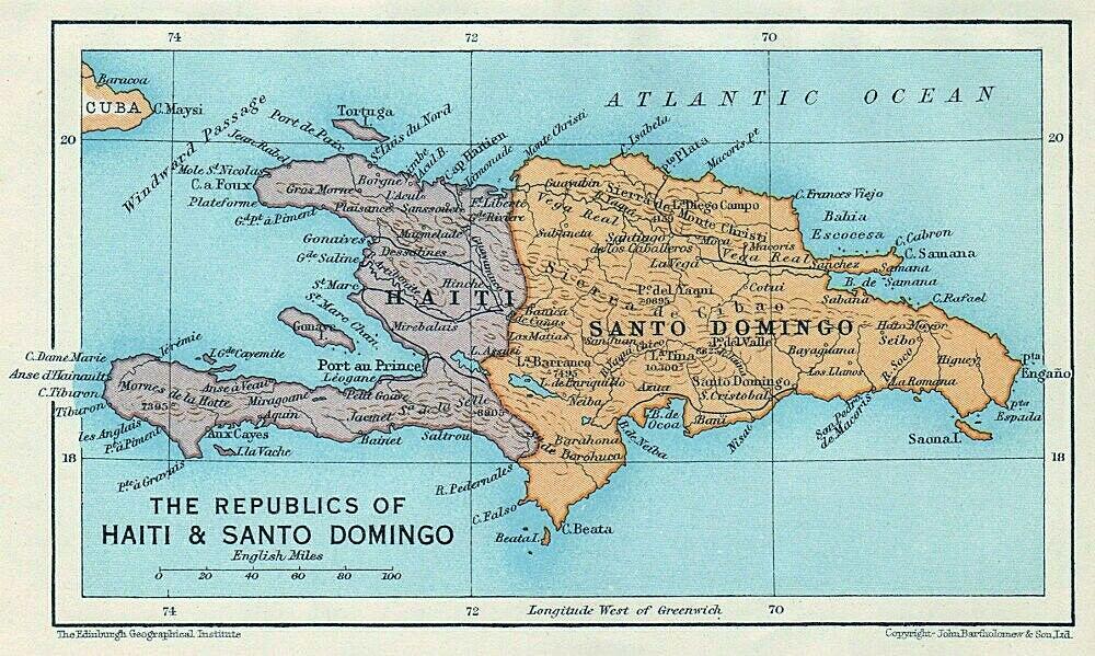 Die Republiken Haiti & Santo Domingo