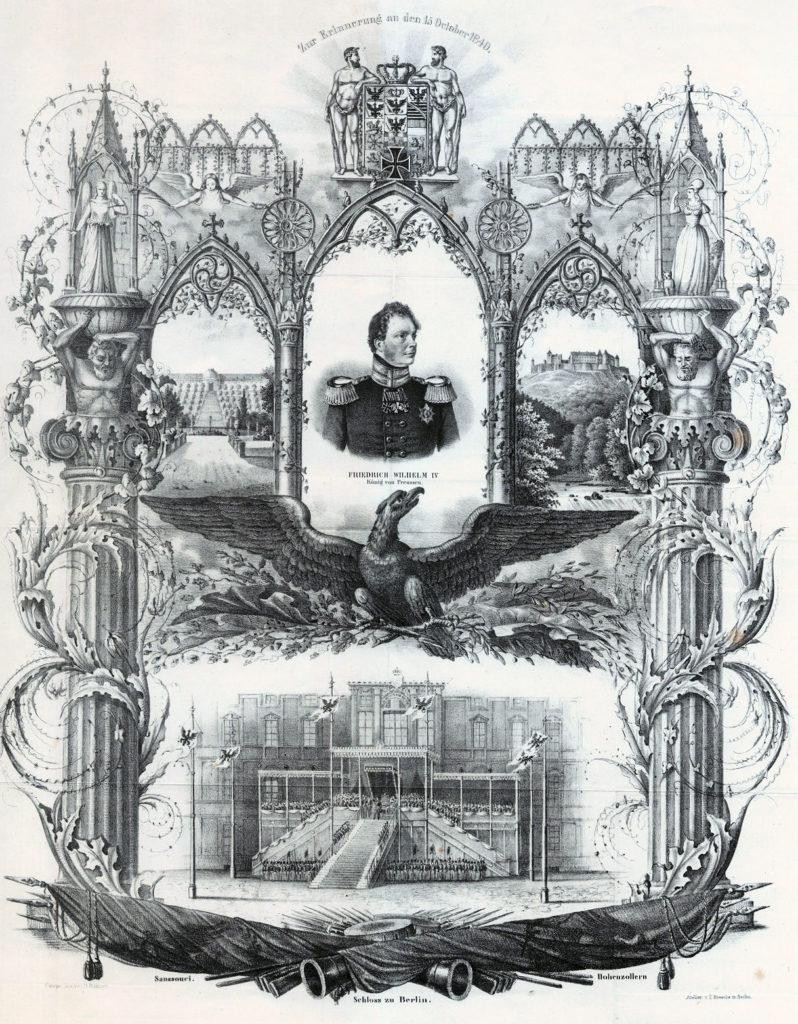 Friedrich Wilhelm IV. König von Preußen. Zur Erinnerung an den 15. Oktober 1840.