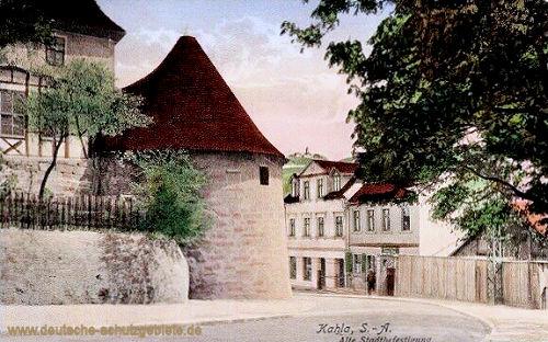 Kahla, Alte Stadtbefestigung