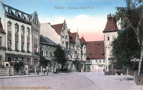 Kahla, Herzog Ernst-Platz