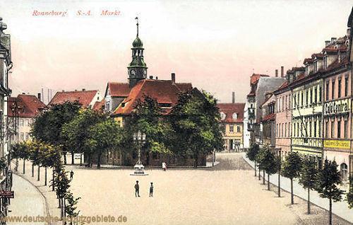 Ronneburg S.-A., Markt
